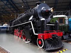 Chinese Locomotive (Megashorts) Tags: york uk england museum yorkshire railway olympus pro f28 nationalrailwaymuseum omd em10 mzd 1240mm