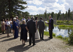 Wedding Ceremony (nicoangleys) Tags: sotowedding wedding tetons family