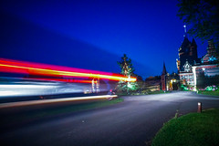 Transit M Sport (danwilson10) Tags: a6300 16mm prime night nighttime lightroom sony alpha light trail