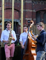 IdeMo Trio 7462-7_9244 (Co Broerse) Tags: music composedmusic contemporarymusic amsterdam 2016 cobroerse jazz westergasfabriek idemotrio movanderdoes saxophone williambarrett doublebass gijsidema guitar troost brouwerijtroost