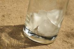 Ice cold - 24x50x50 (KangaRo) Tags: summer ice glass 50mm nikon icecubes 50x50x50 50x50x50challenge