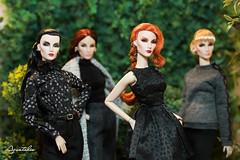 "Aquatalis's "" Fantastic Four Elyse Jolies"" Collection (AlexNg & QuanaP) Tags: elyse jolie fashion royalty flawless engaging dark swan montaigne market fantastic four aquatalis collection"