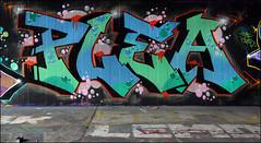 Plea (Alex Ellison) Tags: northlondon mhb urban graffiti graff halloffame hof ctr cityrollers plea boobs