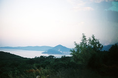 Montenegro (alekspaunic) Tags: ocean summer nature canon island landscapes canona1 analogphotography montenegro adriaticsea naturelovers filmphotography shadesofblue