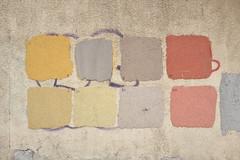 Testing... Testing... (19) (Goran Patlejch) Tags: color swatch swatches paint facade renovation construction choice prague praga praha prag patlejch patlejh goenetix gntx