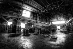 IMG_4475.JPG (Jamie Smed) Tags: iphoneedit handyphoto jamiesmed app snapseed rokinon september lens fisheye prime fixed wide angle focus 2014 hdr blackwhite bw blackandwhite manual canon eos dslr 500d t1i rebel photography warehouse geotag geotagged industrial