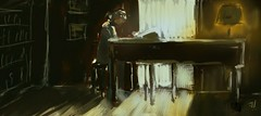 "Grand Piano (""Jimmer"" ( http://jim-vance.pixels.com )) Tags: piano"
