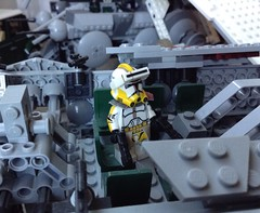 Commander Bly (Johnny-boi) Tags: 2 star lego wars minifig custom clone phase bly