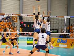 27252102 (roel.ubels) Tags: volleybal volleyball nederland oranje holland zuidkorea southkorea rotterdam topsportcentrum sport topsport 2016