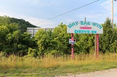 Way-Bak-Wyn Drive-In (plasticfootball) Tags: kentucky lostcreek waybakwyn driveintheater theatre abandoned