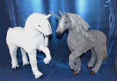 pegase and unicorn (SWEETFANTASYDOLL) Tags: bjd horse unicorn pegasus pegase licorne chevaux cheval msd ldoll ldollfestival