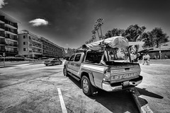 ready to start (alouest225) Tags: unitedstates usa etatsunis ocean nikon d750 paysage landscape sandiego california pacific pacifique lajolla noiretblanc blackandwhite monochrome car inexplore alouest225 nikon1635