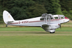 G-AGSH (QSY on-route) Tags: gagsh de havilland dragon rapide old warden shuttleworth egth 31072016