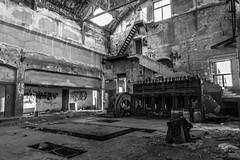 Drapetsona-Greece, abandoned fertilizer factory (Magganaris Manolis) Tags: blackandwhite monochrome building architecture nikon d7100 nikkor 1685 drapetsonagreece abandoned fertilizer factory monochromia bw
