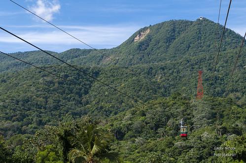 Seilbahn hinauf zum Gipfel des Pico Isabel de Torres
