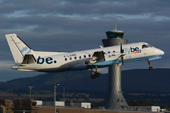 G-LGNN.EDI210816 (MarkP51) Tags: glgnn saab 340b flybe loganair turboprop edinburgh airport edi egph scotland aviation airliner aircraft airplane plane image markp51 nikon d7200 aviationphotography