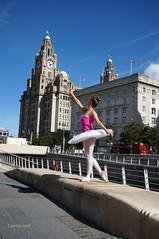 DSC06297 (liverpix) Tags: cleo dog performing anthonywalsh photowalk 500px liverpool pierhead liverbuilding ballerina ballet