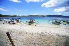 Boats at Gili, Lombok, Indonesia (xian_budiman) Tags: sea seascape nature landscape lombok island beach indonesia boats beautiful