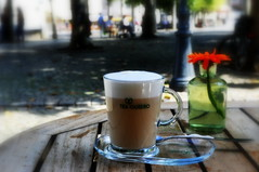 _good morning (SpitMcGee) Tags: stillleben kaffee coffee capuccino tasse cup nichtdrinwasdraufsteht maastricht bokeh netherland niederlande holland limburg spitmcgee stilllife
