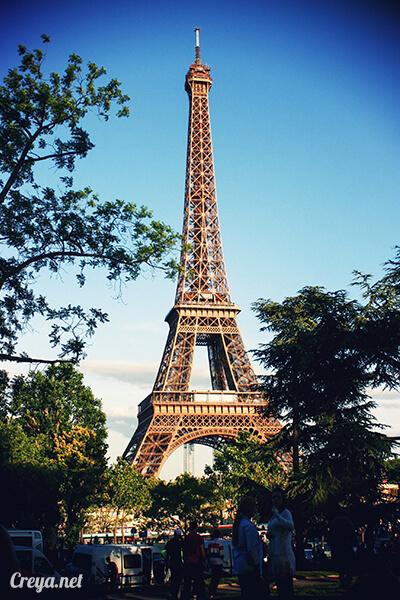 2016.10.09 ▐ 看我的歐行腿▐ 艾菲爾鐵塔,五個視角看法國巴黎市的這仙燈塔 13