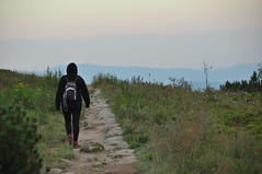 Solitude (Magda Sikora) Tags: mountain solitude path