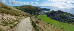 Lulworth cove, Dorset (Westhamwolf) Tags: lulworth cove dorset england sea coast panorama