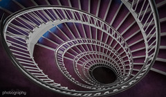 (1/31) World needs more spirals (Alex Chilli) Tags: spiral staircase round twist turn down up steps bannister london canon 70d sigma 1020mm wide angle perspective look view curve swirl eos