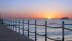 Sunrise form the pier (sheryio1) Tags: nikon d5300 1855mm vr ii sharm el sheikh egypt sunrise landscape scenery