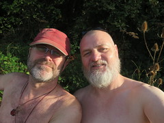 IMG_0983 (griffpops_deptford) Tags: cobham shirtlessmen menwithbeards kentchurches