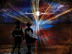 Bernie Tuffs - Take Me Deeper - March Week 4 (Bernie Tuffs - Digital Artist) Tags: light children focus darkness path kingdom come his wilderness tmd2015 logos365 takemedeeper
