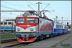 91-53-0-477-888-8 (Zoly060-DA) Tags: blue red electric train grey diesel special romania co locomotive 5100 888 78 kw cluj napoca craiova cfr 761 dmu asea 780 477 infrastructura calatori malaxa electroputere