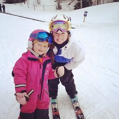 Last day (Agnes Siljekil) Tags: ski oslo selma silje tryvann skidor vinterpark