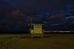 ave 26. venice beach, ca. 2015. (eyetwist) Tags: ocean california longexposure venice sunset bw storm postprocessed color tower beach clouds photoshop la stand los