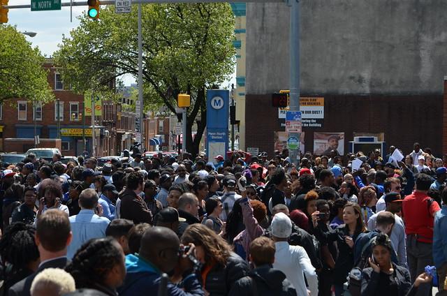 Baltimore Riot - W. North and Pennsylvania Avenues - April 28, 2015     (27)