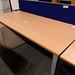 1800L beech desk