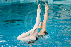 Technical routine Duo-346 (lodedeclercq) Tags: brussels swimming open duo technical masters synchro routine 2015