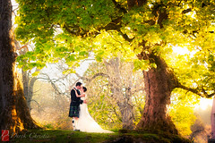 Lois & John at Aswanley (Derek Christie) Tags: wedding highlands huntly weddingphotography aswanley