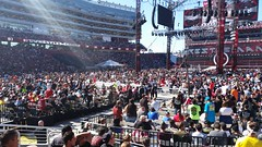 The Big Crowd (earthdog) Tags: 15fav moblog wrestling crowd cellphone samsung wwe wrestlemania 2015 prowrestling androidapp levisstadium samsunggalaxys5 samsungsmg900p