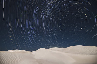 Star Trails - Nambung Sand Dunes