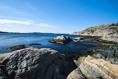 So cold (minghamm) Tags: blue sea spring rocks sweden cliffs sverige westcoast marstrand archipelago hav vår västkust klippor