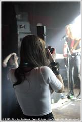 Photographers at work | Fotografen aan het werk (Dit is Suzanne) Tags: netherlands concert eva photographer gig nederland groningen vera fotograaf  sigma30mmf14exdchsm  veraclub views150 img9622  canoneos40d wallacevanborn  evavannetten blackboxred veramainstage ditissuzanne 12022015 lastfm:event=3987337