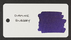 Diamine Bilberry - Word Card