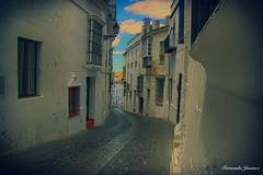 Arcos de la Frontera (alanchanflor) Tags: canon arcos andalucia españa calle blanca ventanas balcones spain
