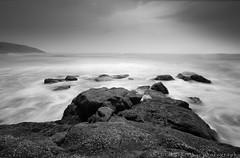 Hedvi Beach (rahul_2800) Tags: longexposure bw beach seascapes beaches maharashtra konkan sigma1020mm guhagar hedvi hoyandfilter hoyandx400 canon550d rahul2800 rahulkinikar beachesinkonkan beautifulkonkan
