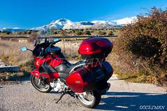 Honda Deauville (DOCESMAN) Tags: travel bike honda moto motorcycle motor deauville motorrad motorcykel moottoripyörä sierradeguadarrama motocykel motorkerékpár nt700v lamaliciosa ntv700 docesman mototsikl danidoces