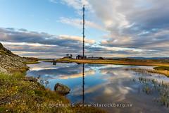 Radiomast Totthummeln re (Ola Rockberg) Tags: se sweden mast utsikt hst jmtland radiomast landskap re sj moln hummeln anlggningar byggnationer