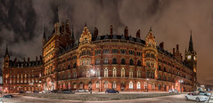 St. Pancras Renaissance London Hotel / Apartments panorama (Botond Buzas Photography) Tags: panorama london st hotel construction apartments pancras renaissance