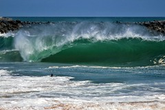 The Wedge (thejeb15) Tags: ocean beach surf tube wave newportbeach newport wedge bigwave thewedge