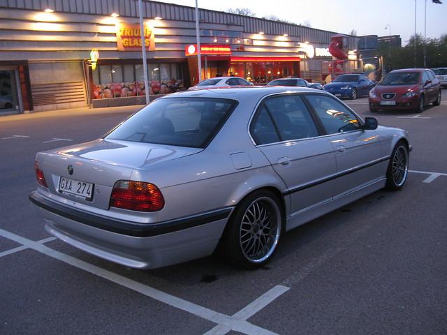 cars bmw v8 7series 7er 740 e38 740i