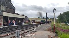 Hotspur 2944 - Cheddleton Railway Station (burbman20) Tags: station tank railway polish steam valley locomotive cheddleton churnet